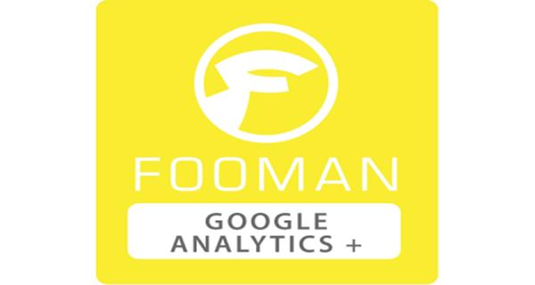 Fooman Google Analytics